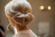 Wedding hair and Make-up / Ideas for wedding hair and makeup.