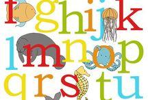Ocean Nursery Art  / Ocean nursery art, Sea nursery art.