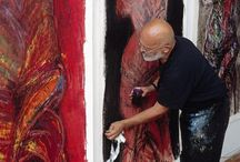 artists at their studio