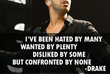 Drake Quotes / Live without pretending, Love without depending, Listen without defending, Speak without offending