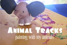 """art projects for toddlers - """"because we are arting"""" / by Foy Joy"""