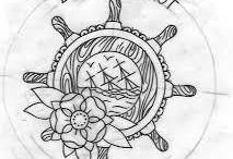 Tattoos and tattoo flash