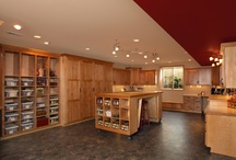 Craft Room / Creative Spaces / by Dena * Moose River Crafts