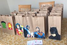 Jean super hero party