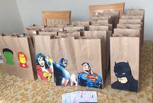 Jean super hero party