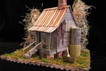 Tim Holtz Village and mini houses