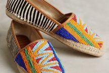 Footwear Fun: Sandals / Funky foot wear that will put bright colors and bold prints into your step