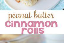 pb and cinamin rolls