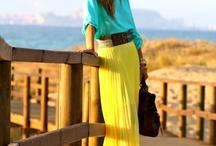 Fashion / Outfits. Colour. Print.