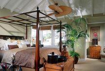 DIY Hawaiian inspired bedroom