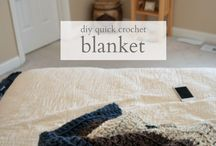 One day crochet blanket