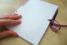 My art journal / Suivez l'évolution de mon futur journal d'art fait main /// Follow the evolution of my future handmade art journal