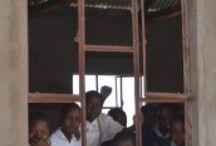A bridge, a pipe, and lunch / Moshi, Tanzania