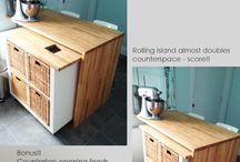 Kitchen Island with ikea