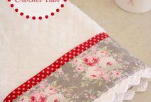 face towel decor