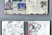 visual diaries and mindmaps