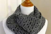 Crochet cowls scarves and hats