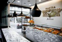 Bakeries, coffee shops, tea shops