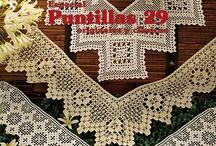 """""""PUNTILLAS 29"""" REVISTA CROCHET / """"Puntillas 29"""" la revista donde encontrarás todas las novedades en puntillas para tejer a crochet. #crochet #ganchillo #toallas #manteles #caminosdemesa #paños #colchas #cortinas #instrucciones #muestra #decoracion #casa #moda #complementos / by Muestras y Motivos"""