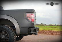 Ford Raptor SVT  / Custom Ford Raptor SVT Rear Bumper