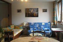 salon de mon appartement au Mont-Dore