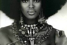 Naomi Campbell / She may be a little mad but damn she can pose.