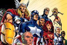 Comic Book Heroes / by Tahnee ☮ Lazarus