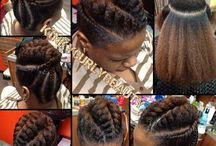 Coiffure cheveux Black
