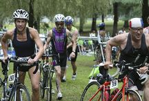 Transition Tips for Triathletes / Transitions are the fourth event in a triathlon, as your transition time from swim to bike and bike to run count toward your total time. We'll share tips to improve your transition times on this board.