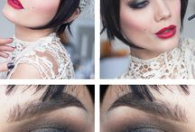 1920s style makeup