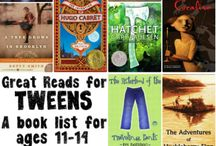 Teen and Tween Book Suggestions