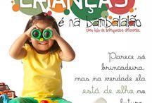 Atividades e Eventos Bambalalão / Eventos e atividades na Bambalalão Brinquedos ou em que a loja participa