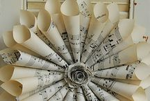 Music flower / Sheet music