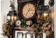Great room shelf vignette ideas
