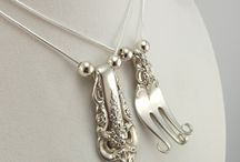 Silverware jewelry/craft