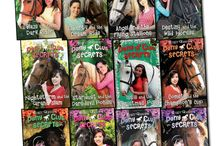 Pony club secrets / books of the pony club secrets if you haven't read them you really should. :-) they are the best <3