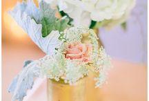 Flower Love / Wedding Floral inspiration photos from Shalese Danielle, a Richmond VA wedding photographer.