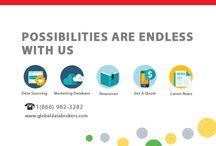 Global Data Brokers / Global Data Brokers- Trusted source of marketing data.