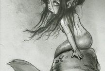 Русалки и море / Mermaid