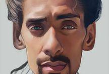 Digital Art: Portraits