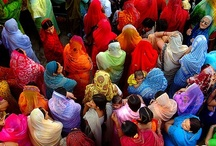 art! color for life / Although I don't wear much color it mesmerizes me.  Hence... INDIA, INDIA, INDIA!