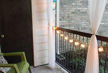 Fina balkonger