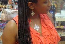 front braids