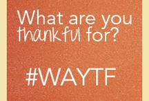 What Are You Thankful For? #WAYTF / by Africare