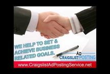 Craigslist Posting Service, Craigslist Ad Posting Service