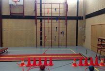 Bewegingsonderwijs / Leuke ideeën voor de gymles. BO -VO - SBO - SVO