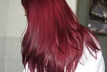 Hair color (red)