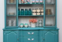 Provence - kolor tygodnia/colour of a week- Chalk Paint decorative paint by Annie Sloan