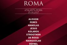 Line-ups 2017-18 / All of the Roma line-ups for games in the season