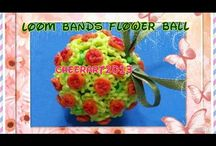 Rainbow Loom - ornaments & other